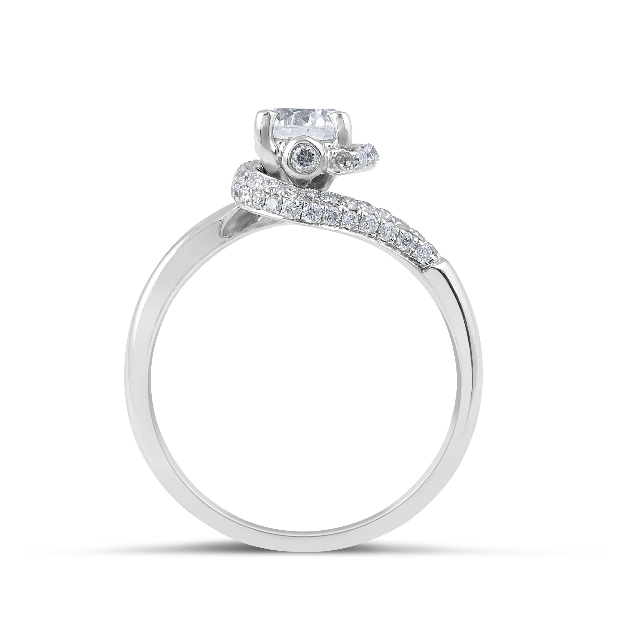 a cut wedding carat brilliant stone engagement diamond three round ring sku rings