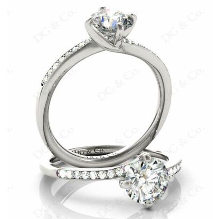 platinum diamond rings